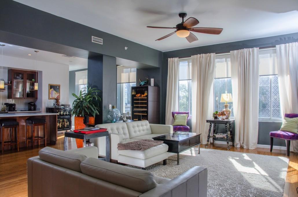 living room Snell Arcade